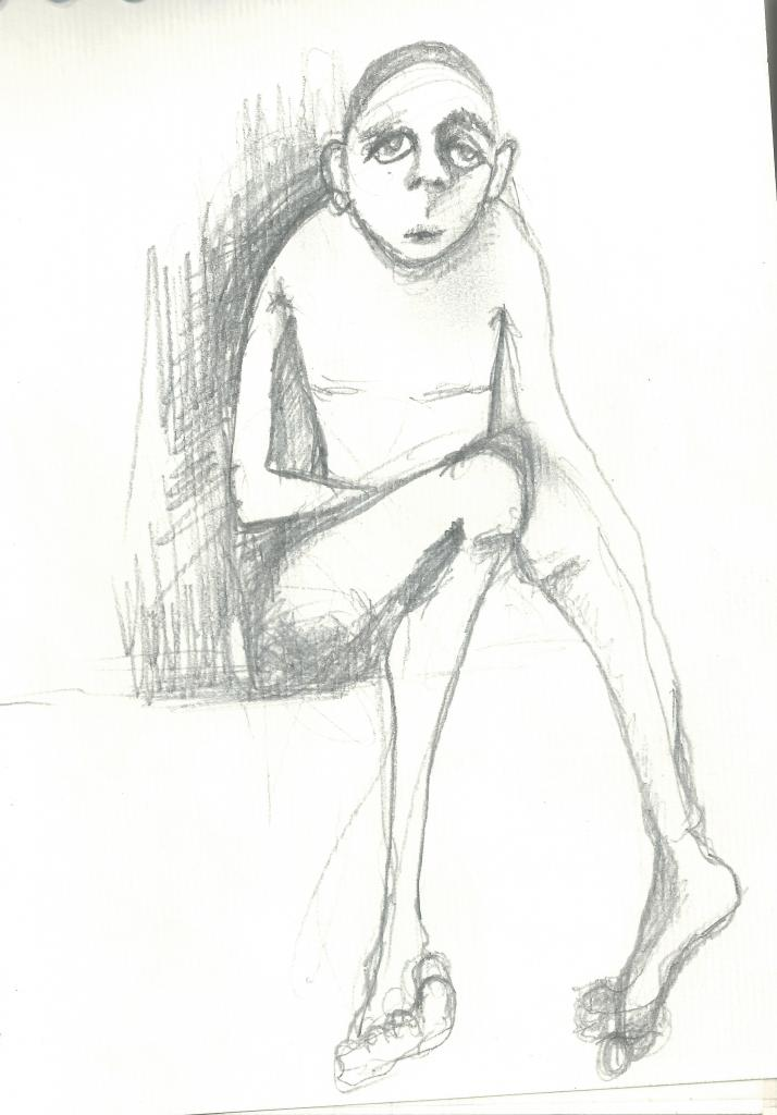 00049 Drawing -  pencil on paper