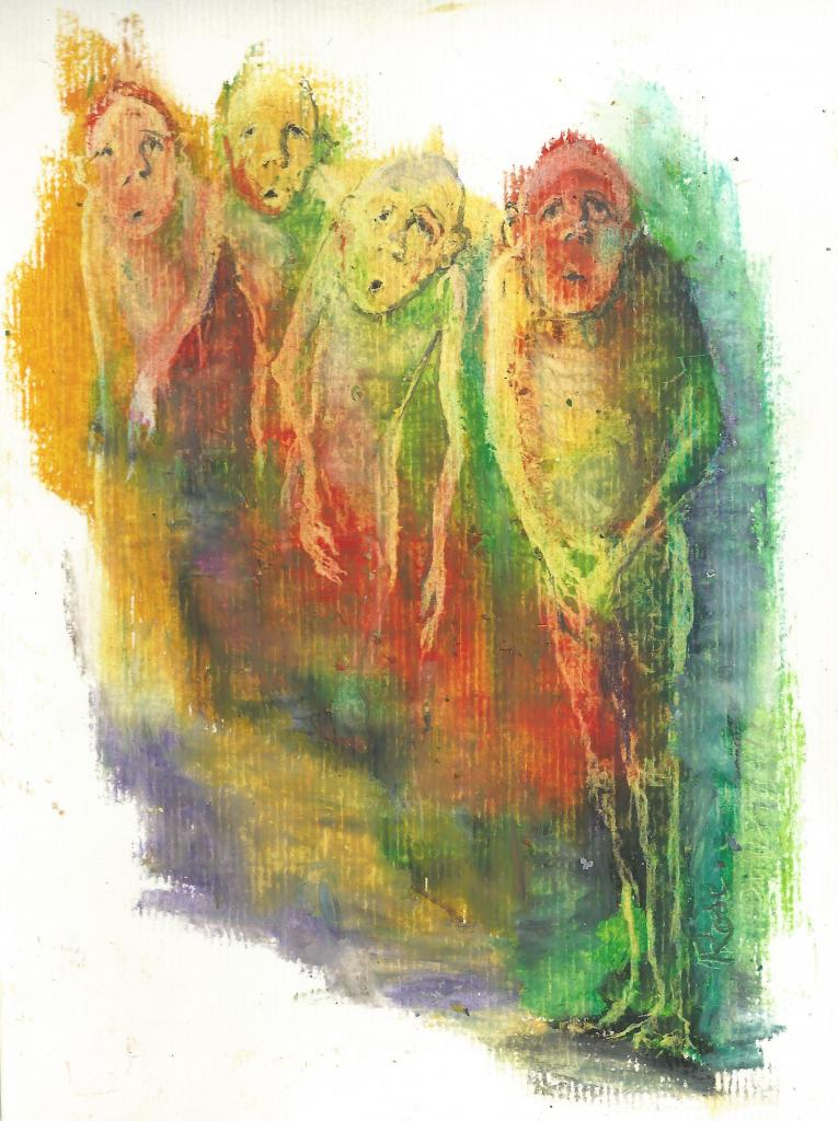 groupe005. crayon on paper