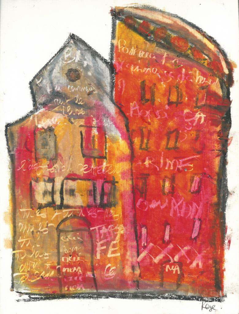 home-1.crayon on paper