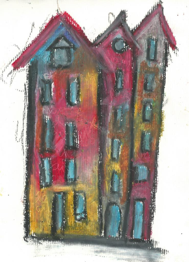 home-3.crayon on paper