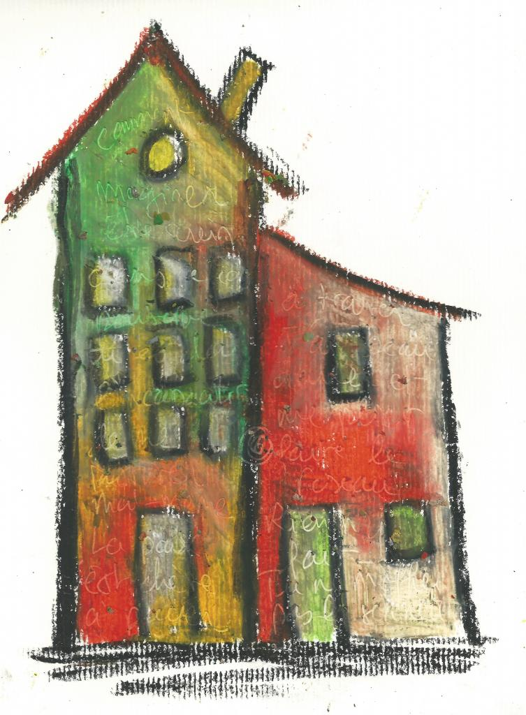 home-6.crayon on paper